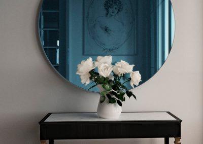 Blue Color Mirror