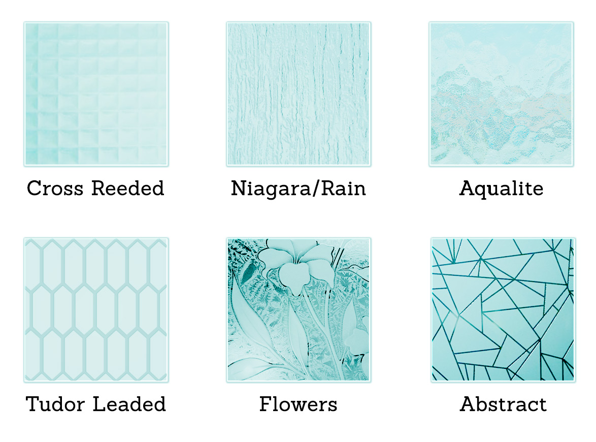 Frosted Glass Options