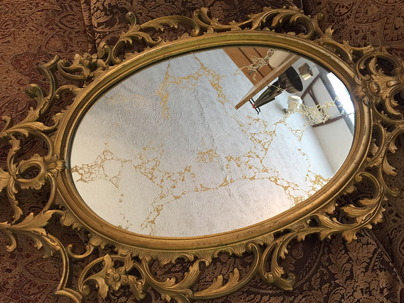 Gold Veined Mirrors In New York Amp New Jersey Luxuryglassny