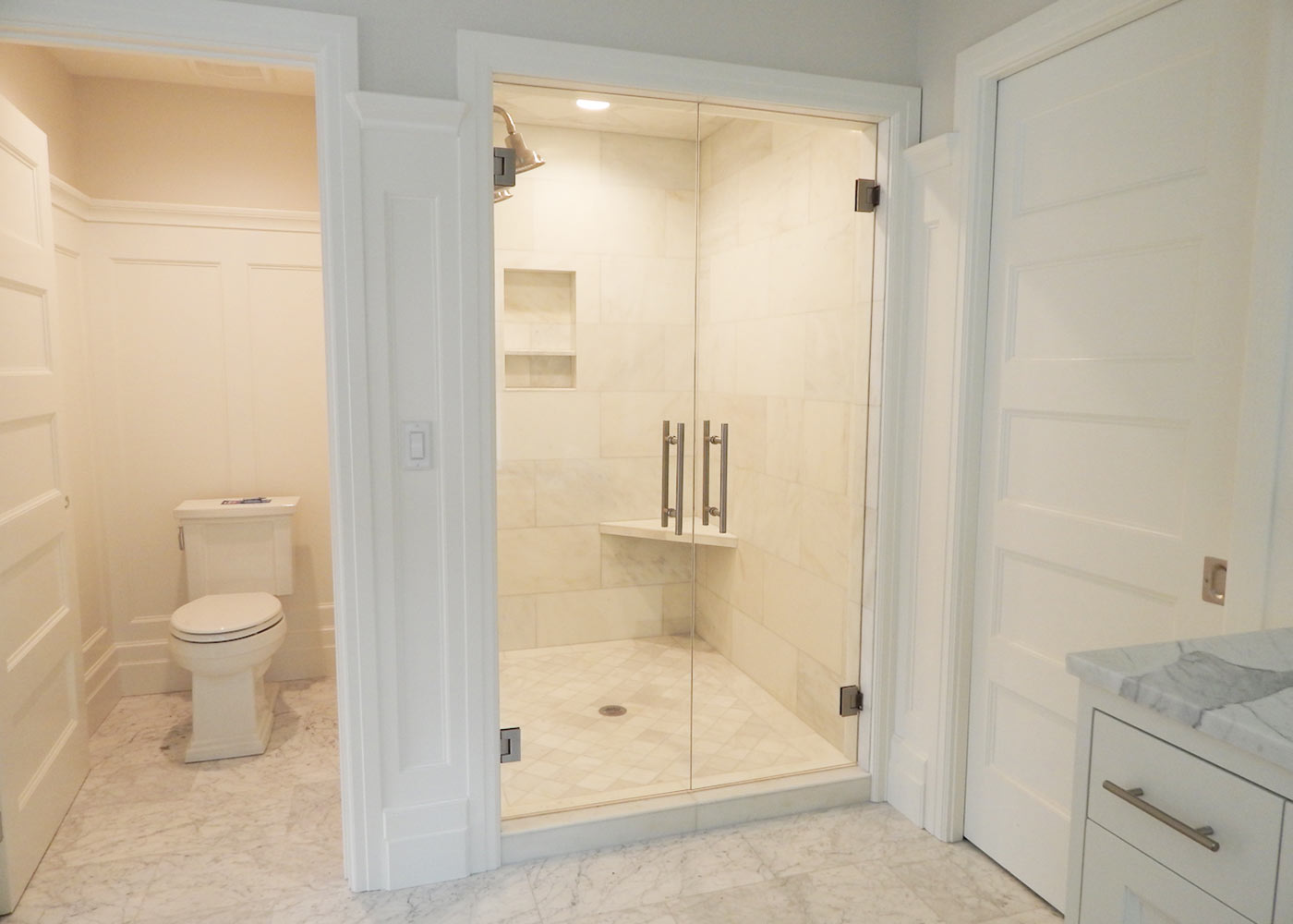 Walk-in Custom Shower Doors
