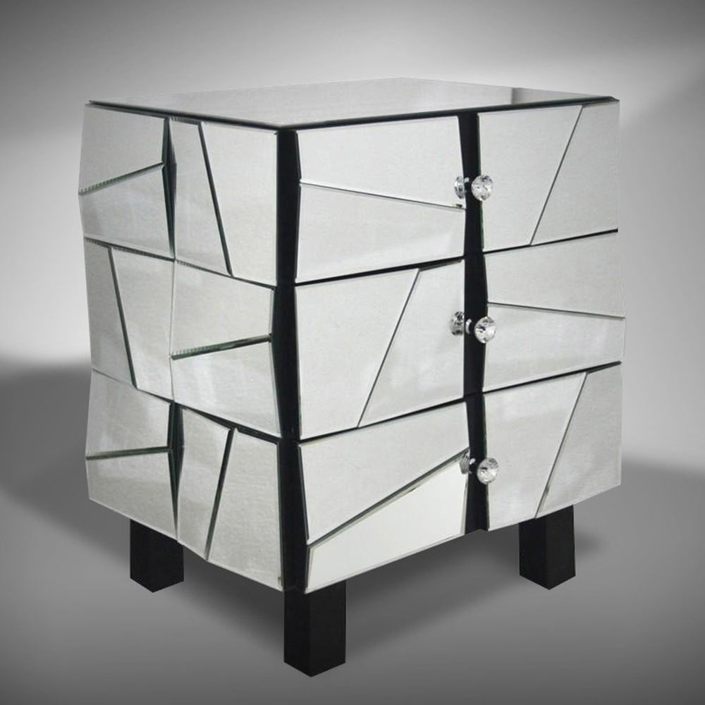 Glass Mirrored Furniture