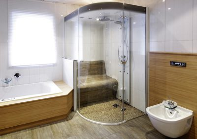 Steam Shower Round Enclosure