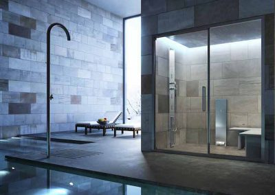Steam Shower Sliding Enclosure
