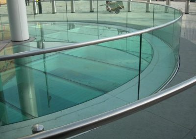 Safety in the Office: Glass Railings