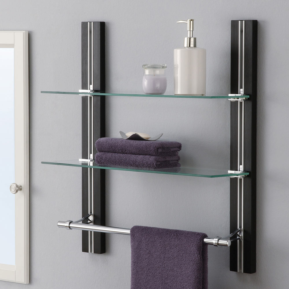 Custom Size Glass Shelves