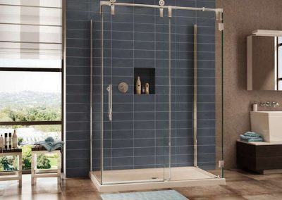 Sliding Clear Glass Shower Door