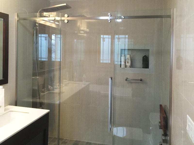 Custom Shower Doors in New York & New Jersey | LuxuryGlassNY