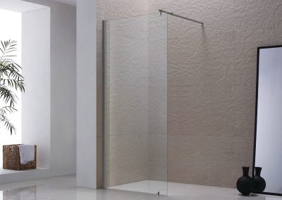 Frameless Shower Splash Guard