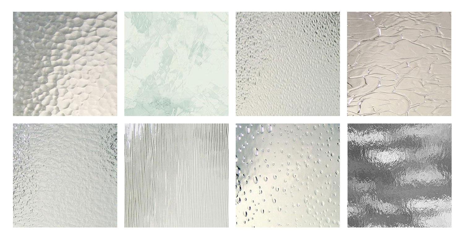 Texture of glass exploring glass options luxuryglassny for Glass block options