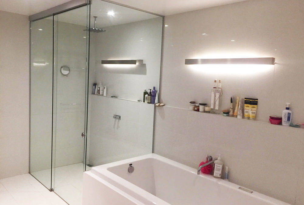 frameless sliding shower doors u2013 why they are a thing these days