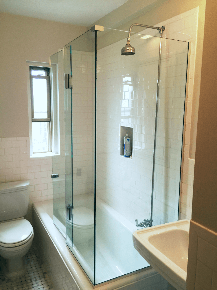 Frameless Glass Bathtub Doors Redefining Your Bathtub