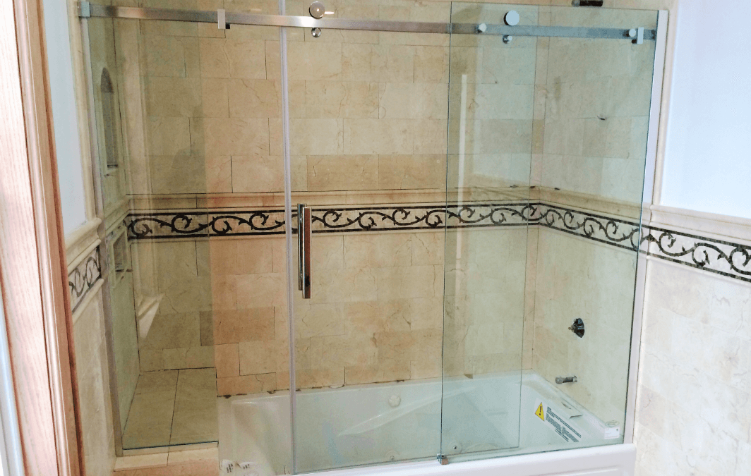 Frameless Glass Bathtub Doors Redefining Your Space