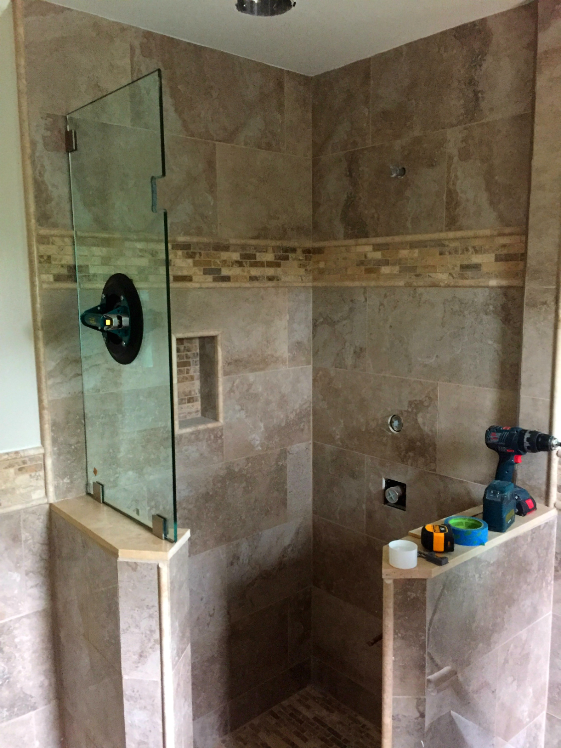 Our Projects Neo Angle Shower Doors In New York