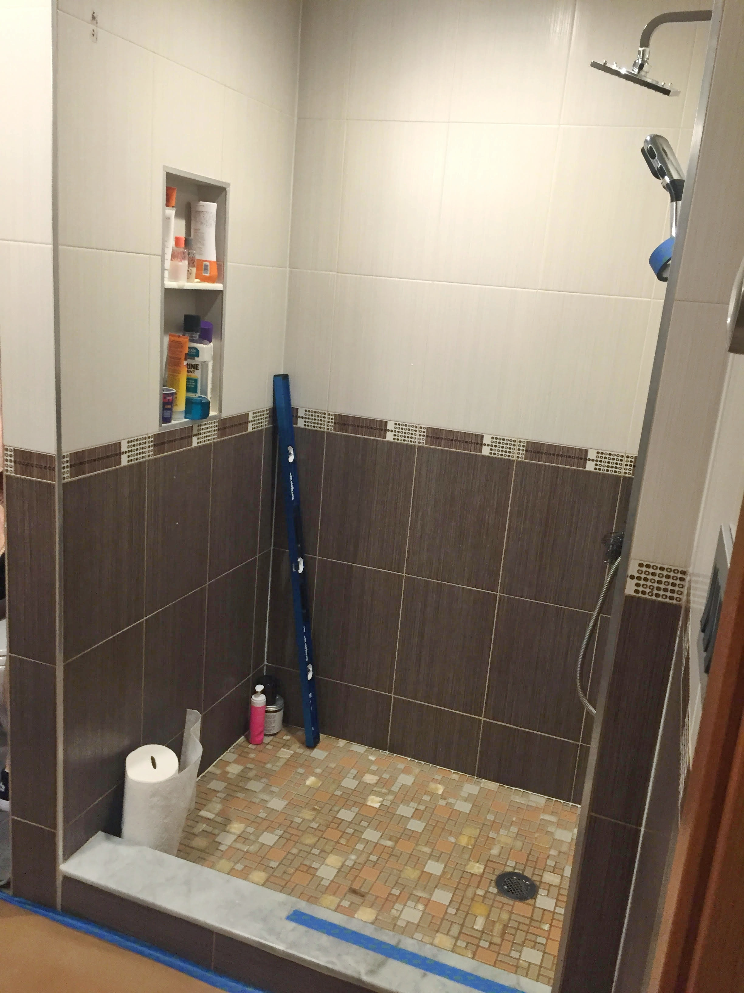 Our Projects Swing Frameless Shower Doors In Staten