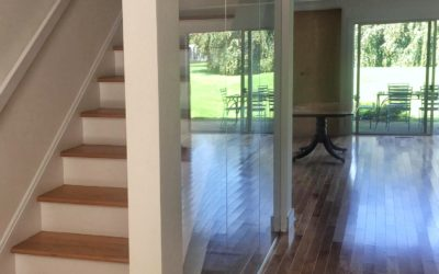 Our Projects – Staircase Glass Partitions in Westhampton, NY